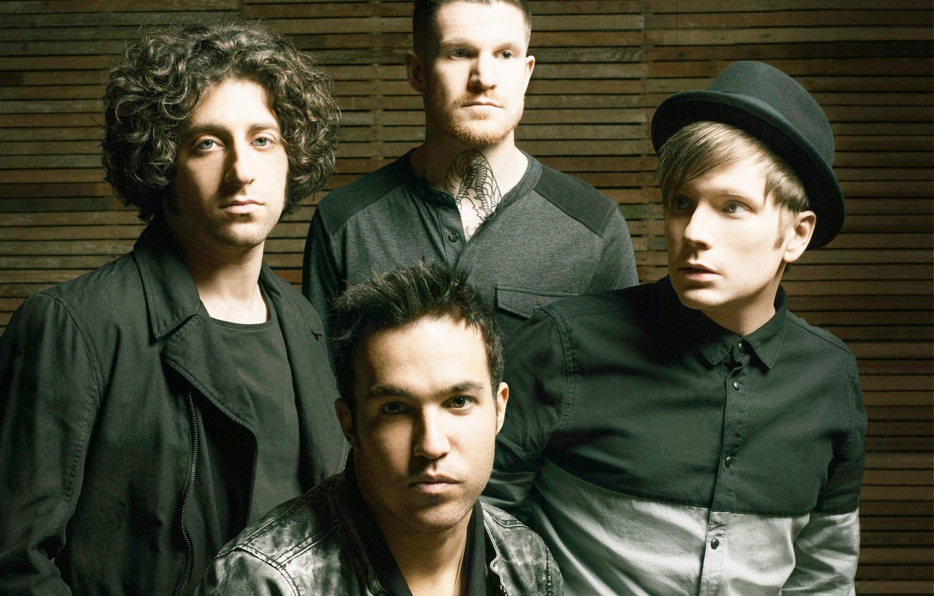 Wallpaper Music Peter Joe Andrew Patrick Fob Fall Out Boy