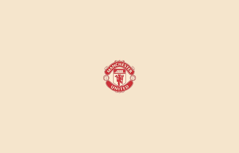 Wallpaper Logo Minimalism Manchester United Soccer Images For Desktop Section Minimalizm Download