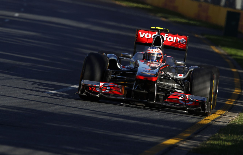 Photo wallpaper McLaren, 2011, Australia, Jenson Button, Jenson Button, Grand Prix of Australia