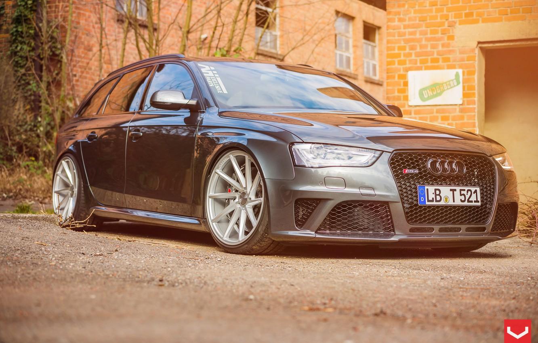 Photo wallpaper Audi, Audi, RS4, vossen wheels