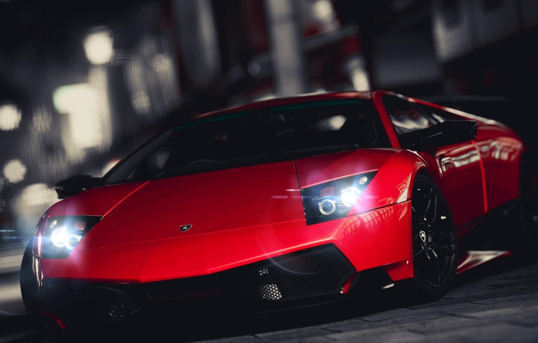 Photo wallpaper Lamborghini, Murcielago, SuperVeloce