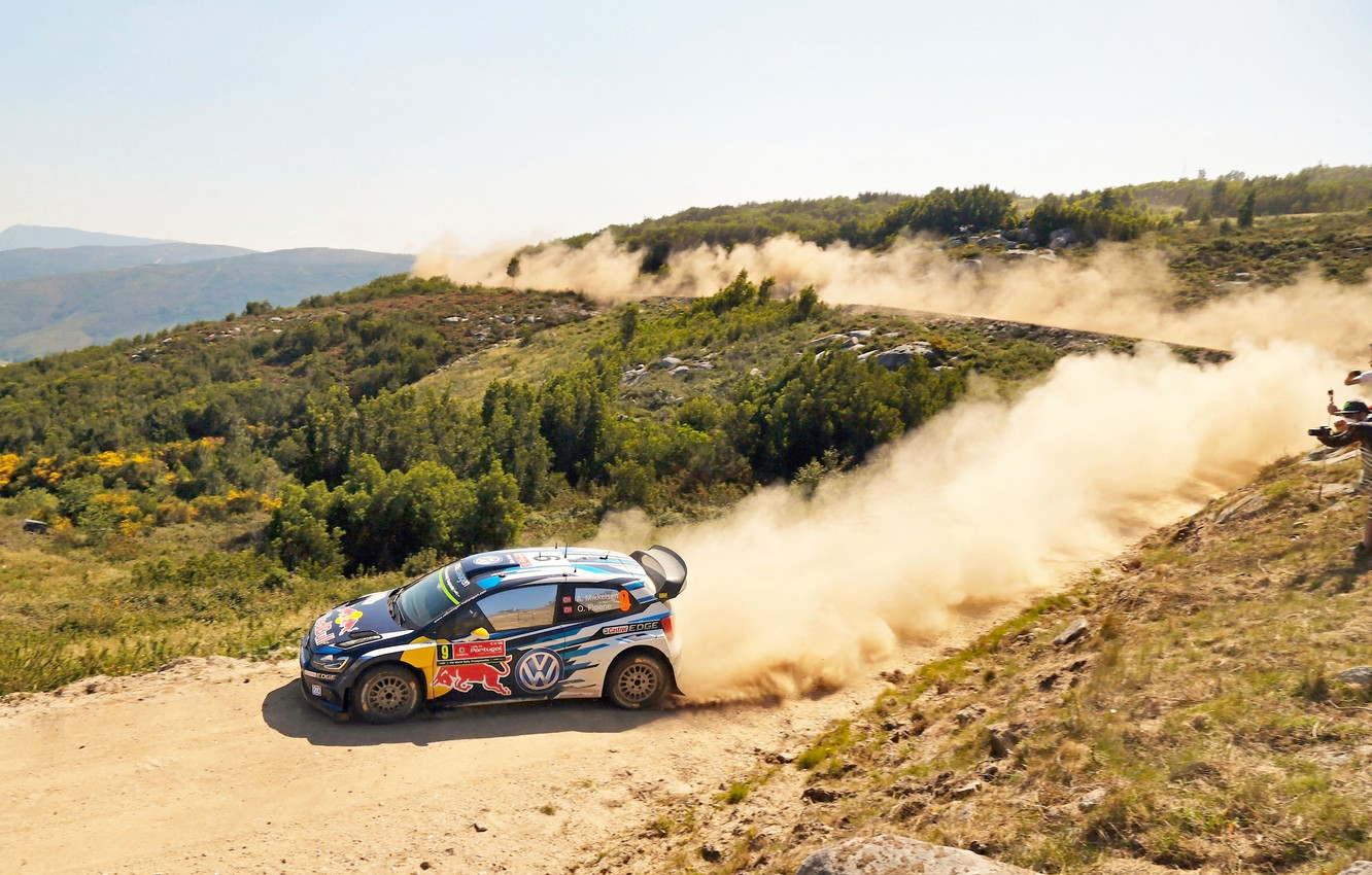 Wallpaper Dust Volkswagen Landscape Wrc Volkswagen Polo Images