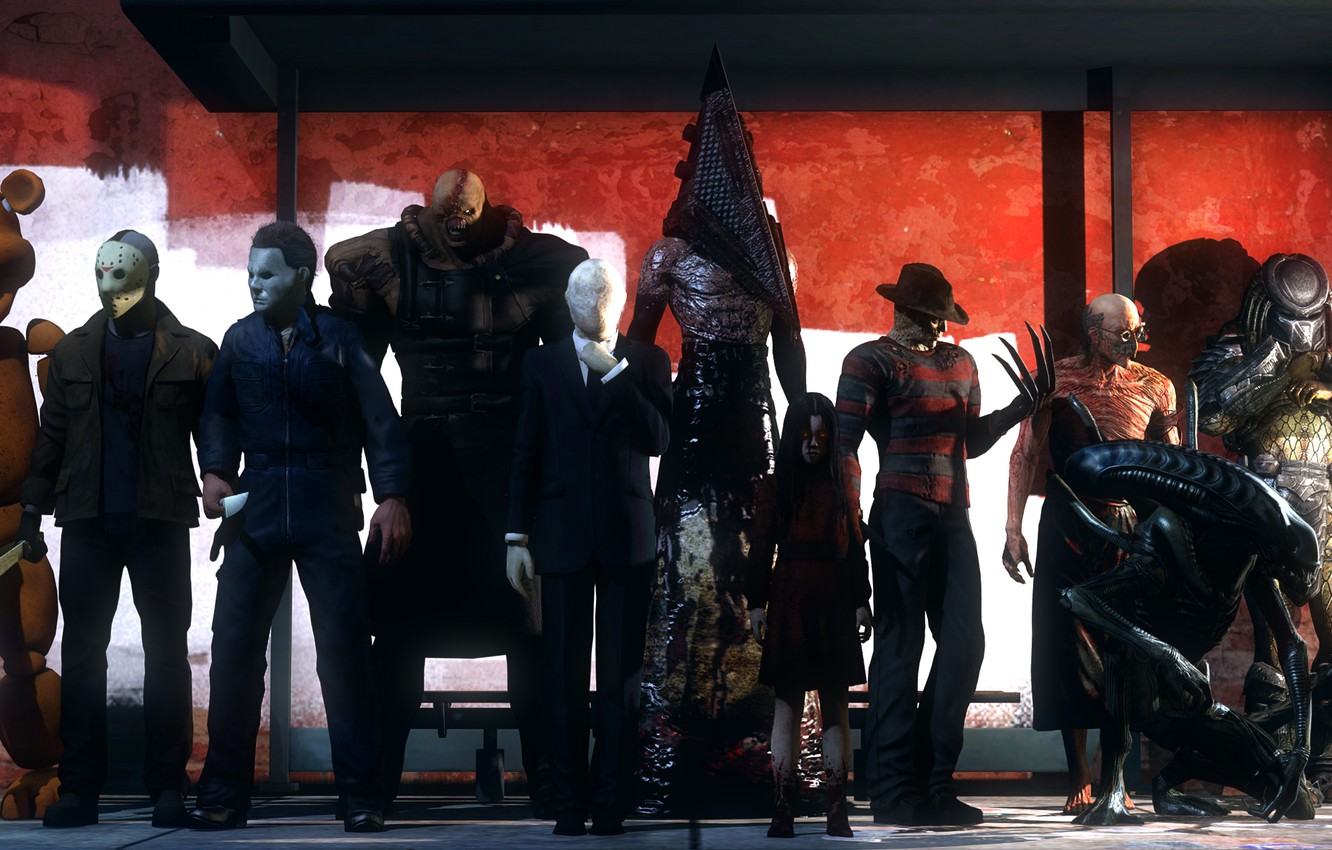Wallpaper Halloween Resident Evil Mass Effect Bear