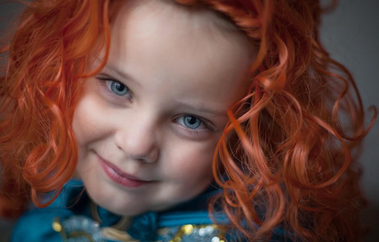 Photo wallpaper smile, sweetheart, portrait, girl