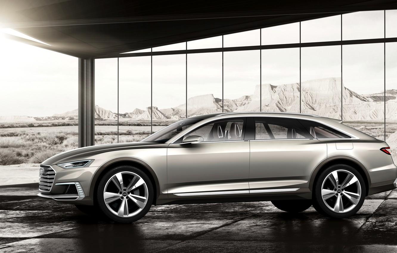 Photo wallpaper Audi, Audi, Allroad, 2015, Prologue