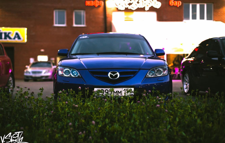 Photo wallpaper machine, auto, photographer, Mazda, auto, photography, photographer, Vladimir Smith, Vladimir Smith
