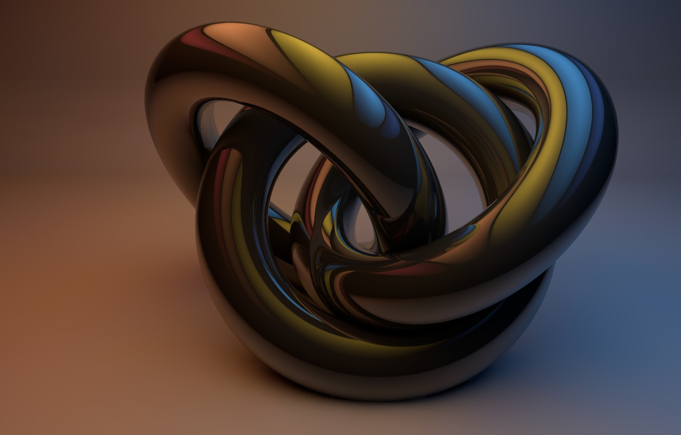Photo wallpaper Abstraction, Thor, Cinema4D