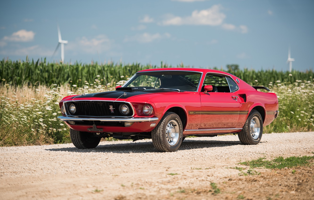 Photo wallpaper mustang ford mustang 1969 ford
