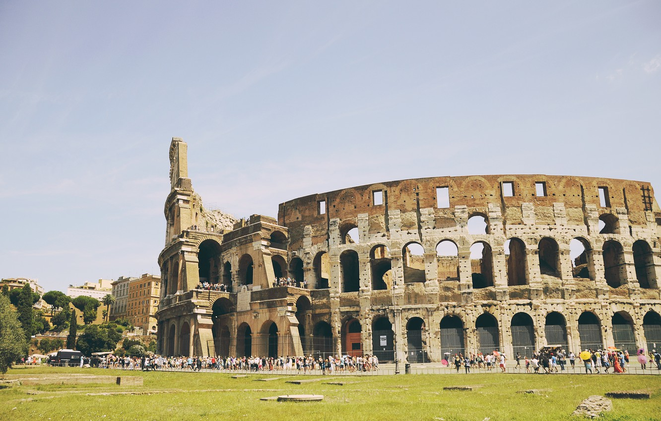 Photo wallpaper Rome, Italy, Colosseum