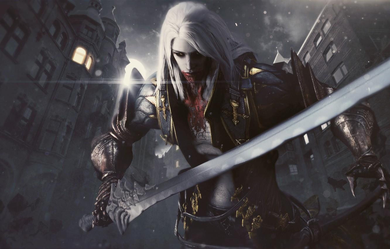 Wallpaper Alucard Vampire Hunter Castlevania Lords Of Shadow 2