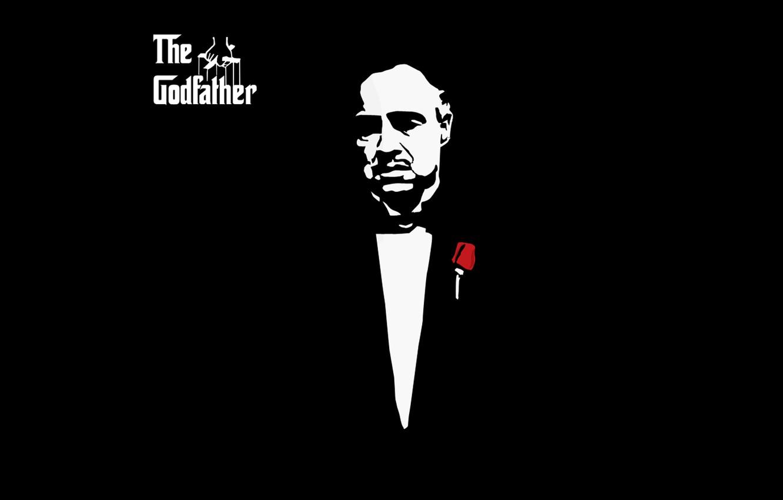 Photo wallpaper black, Godfather, The Godfather