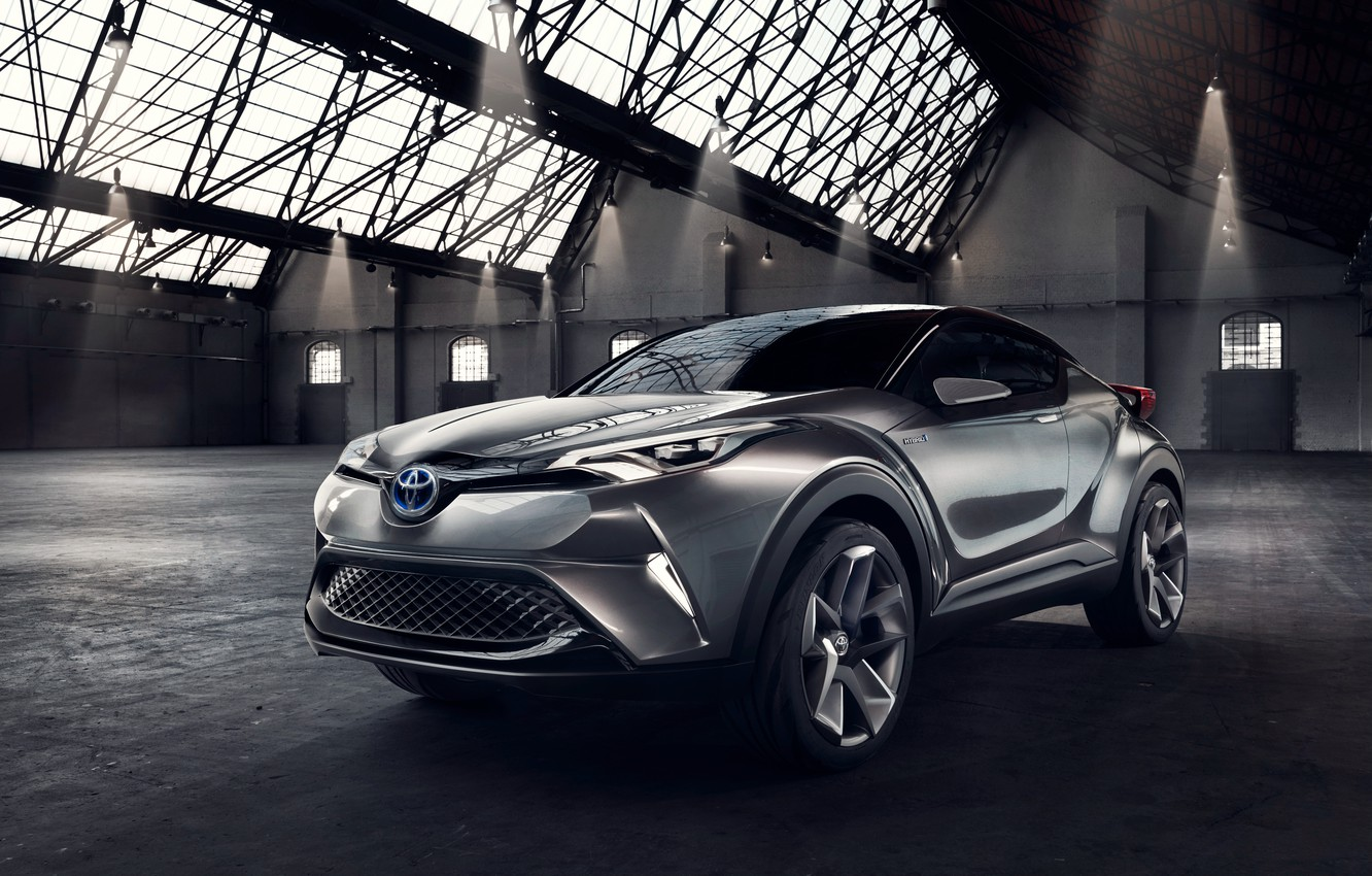 Photo wallpaper Concept, Toyota, Toyota, 2015, C-HR, concentrate