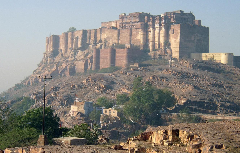 Photo wallpaper castle, fortress, castle, Rajput, Rajput, Meherangarh, Mehrangarh