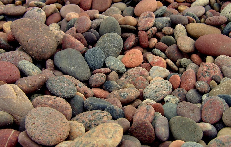 Photo wallpaper mosaic, stones, landscapes