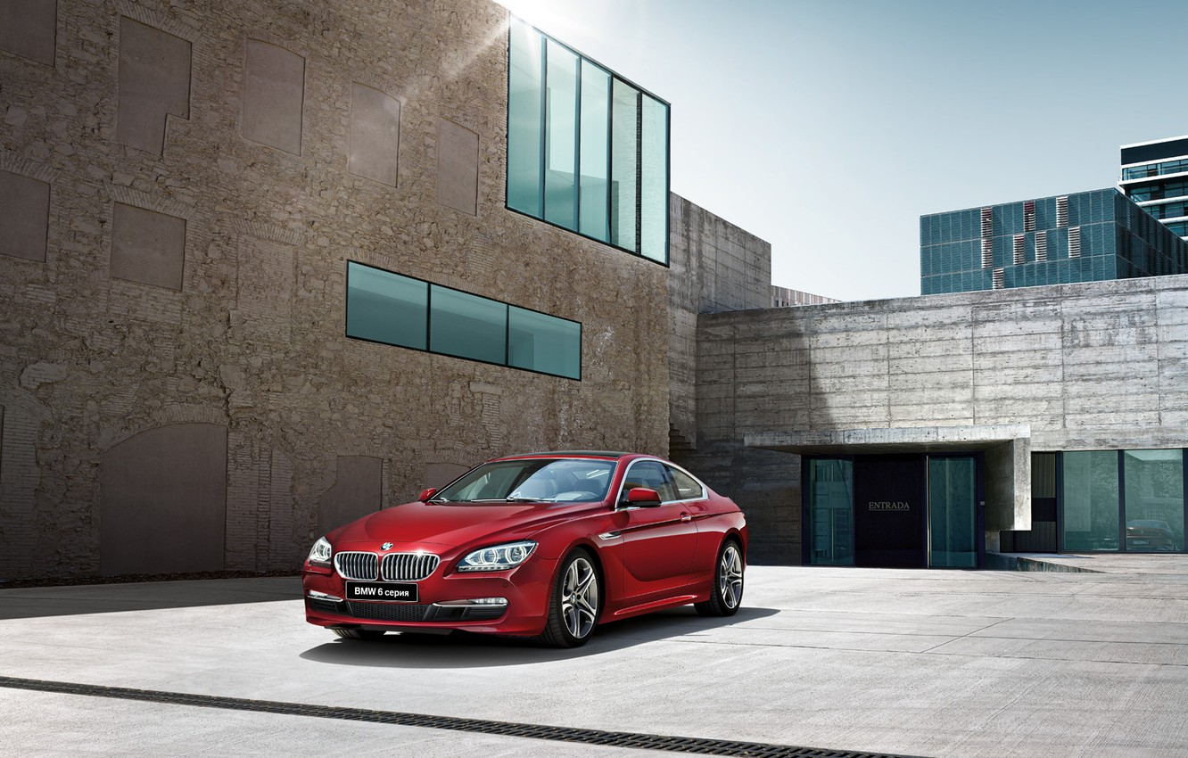 Photo wallpaper house, BMW, coupe, BMW, Coupe, Playground, 6 series, F13, 2015
