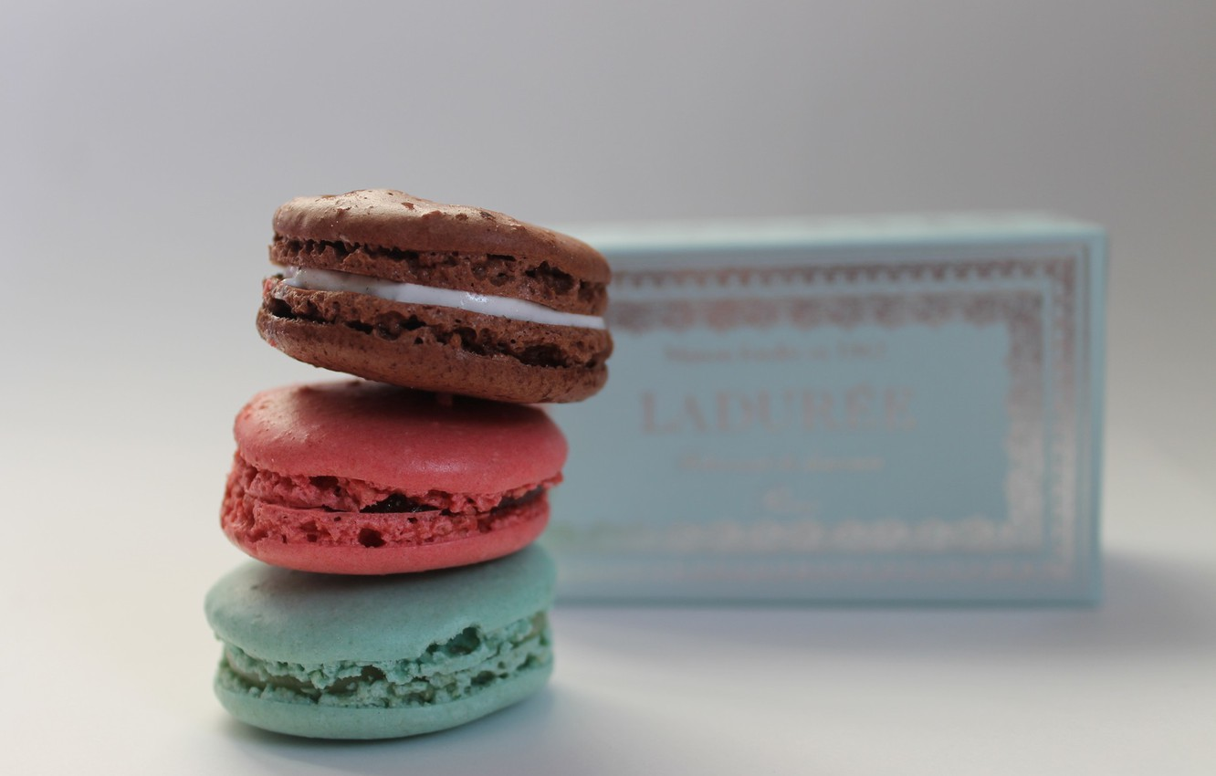Photo wallpaper France, france, sweet, sweet, macaron, desserts, desserts