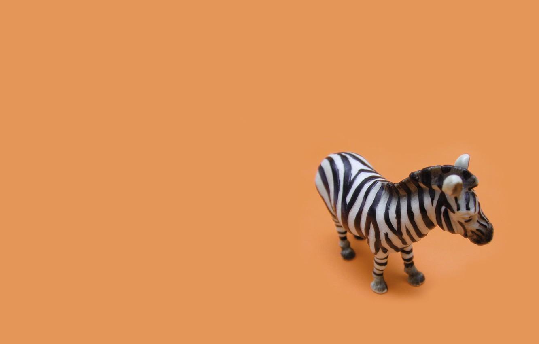 Photo wallpaper Minimalism, White, Toy, Orange, Black, Orange, Zebra, Black, White, Minimalism, The Wallpapers, Zebra, Toy, Desktop …