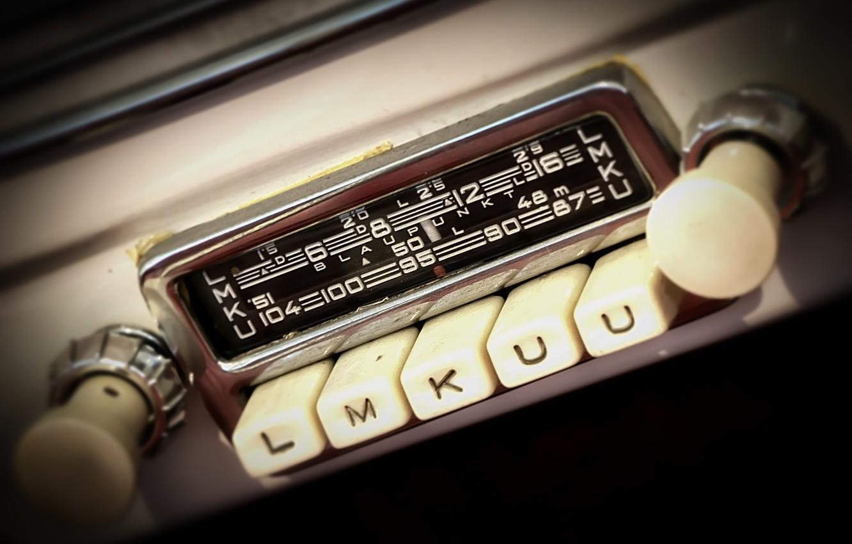 Photo wallpaper machine, radio, receiver
