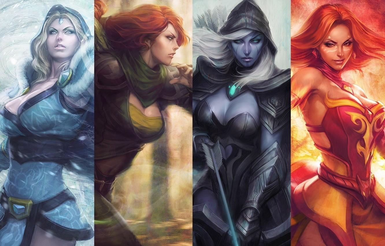Wallpaper Game Girls Game Dota 2 Defense Of The Ancients Dota