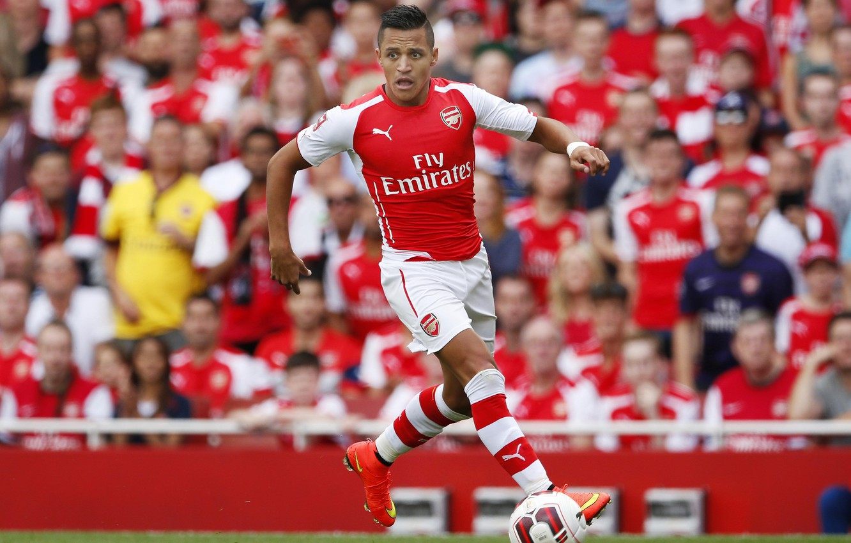 Wallpaper Football London Puma Arsenal Alexis Forward