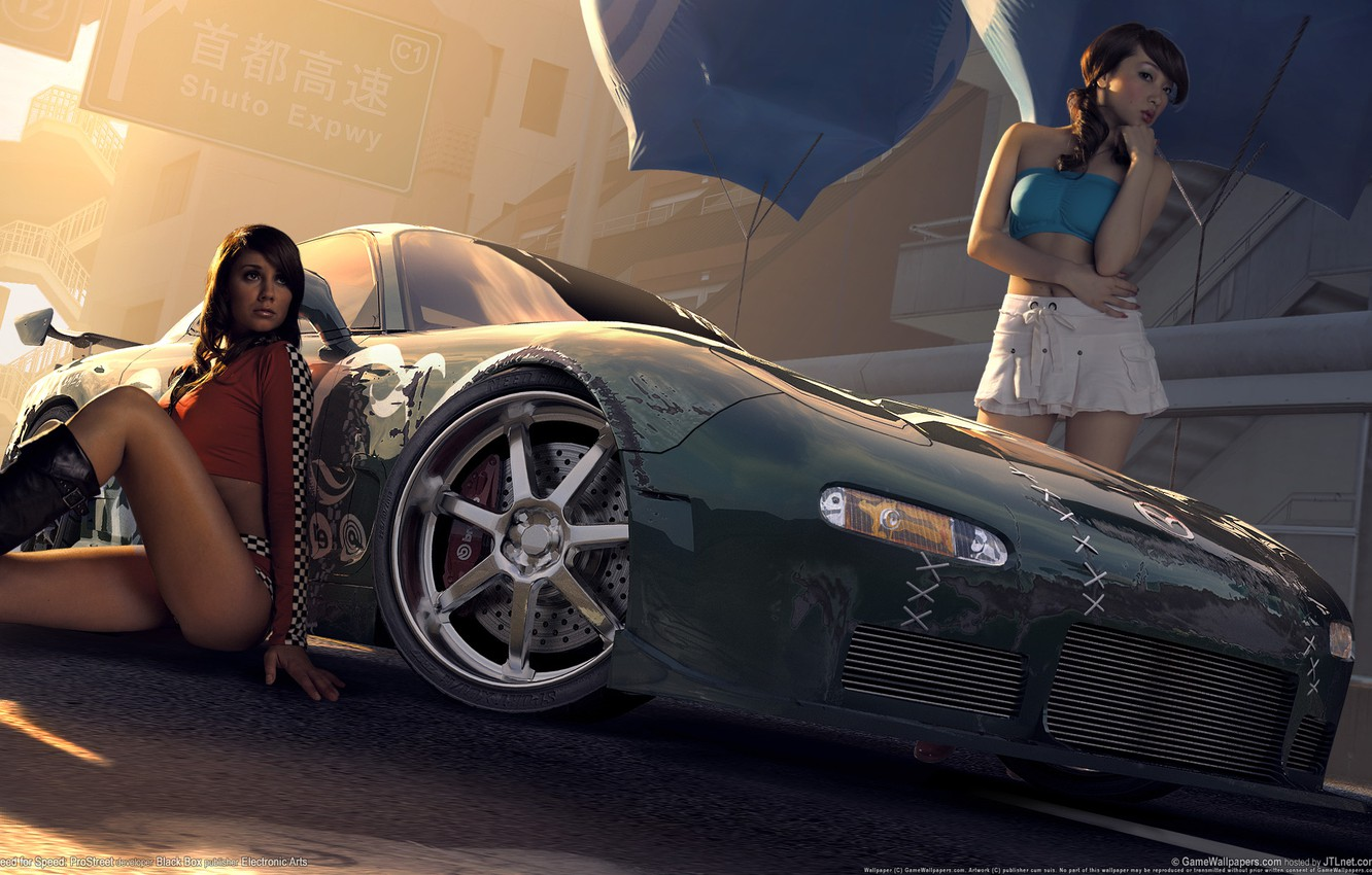 Photo wallpaper the game, race, nfs