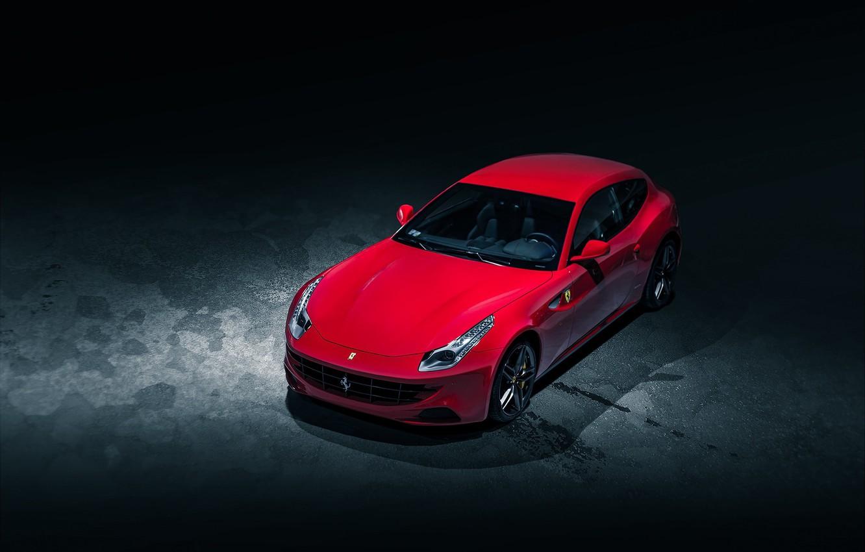 Photo wallpaper Red, Ferrari, Ferrari, Red, Cars