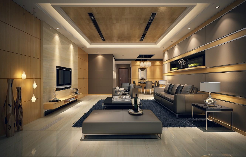 Photo wallpaper wallpaper, house, room
