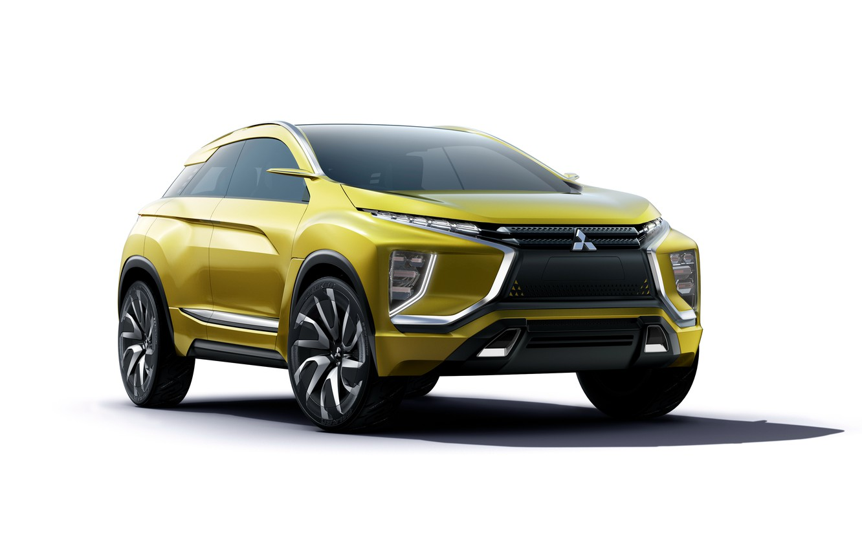 Photo wallpaper Concept, the concept, Mitsubishi, Mitsubishi, crossover