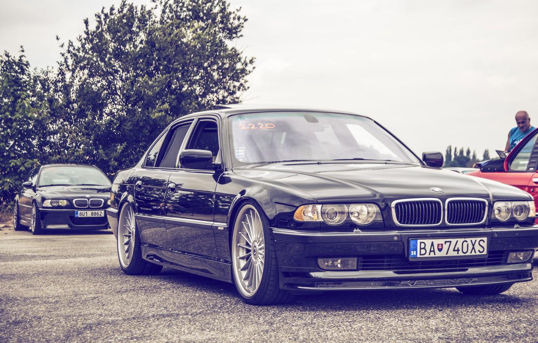 Photo wallpaper BMW, Boomer, BMW, tuning, Stance, E38