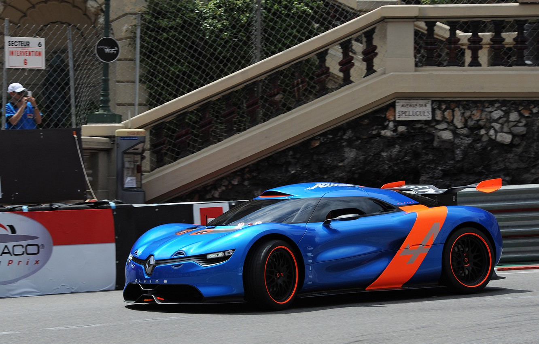 Photo wallpaper auto, Concept, track, Renault, the concept car, Reno, Alpine, A110-50