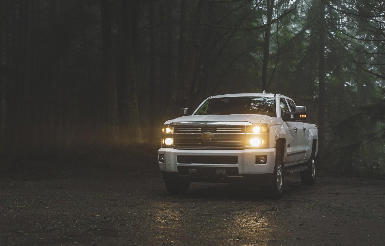 Photo wallpaper Chevrolet, American, Silverado