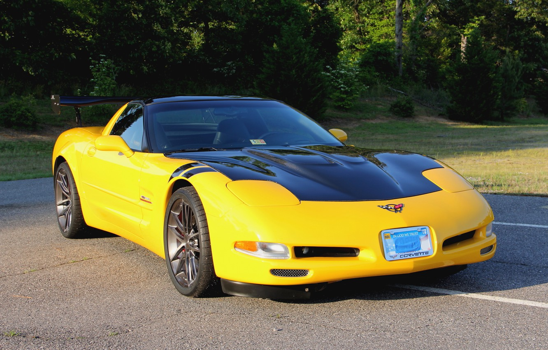 Photo wallpaper Corvette, Chevrolet, One, Forged, Wheels, Parts, Piece, AR1, Forgeline, Monoblock, Zip
