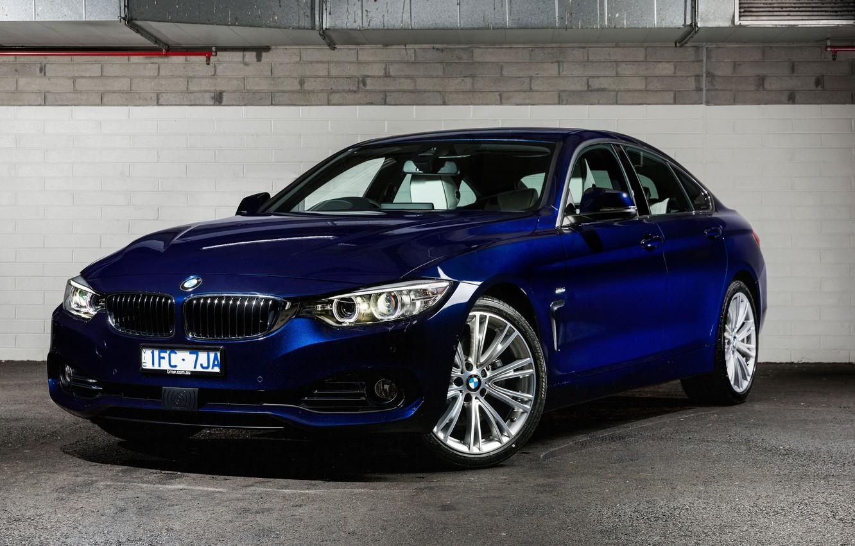 Photo wallpaper BMW, BMW, Gran Coupe, 4-Series, F36
