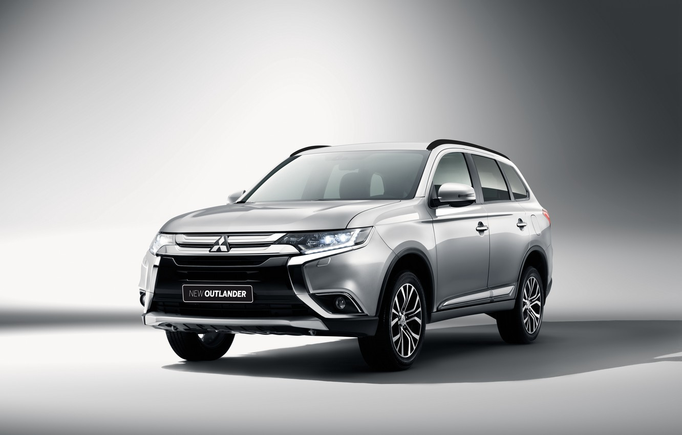 Photo wallpaper Mitsubishi, Mitsubishi, Outlander, 2015, Outlander, BR-spec