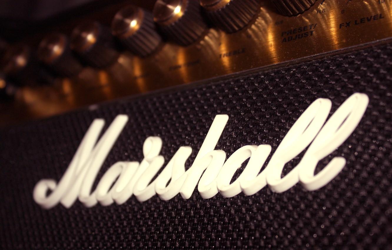 Photo wallpaper guitar, guitar, marshall, Marshall, amp