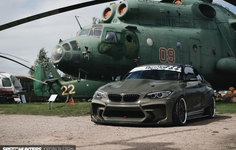 Photo wallpaper car, BMW, Drift, speedhunters, Latvia