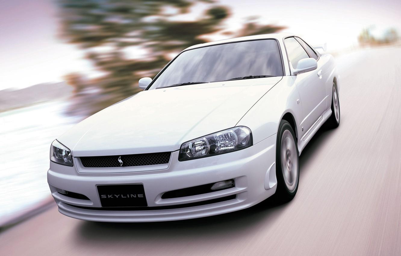 Photo wallpaper Machine, Nissan, Japan, Nissan, Car, Auto, Coupe, Car, Skyline, Wallpapers, Turbo, R34, Legend, Coupe, Skyline, …