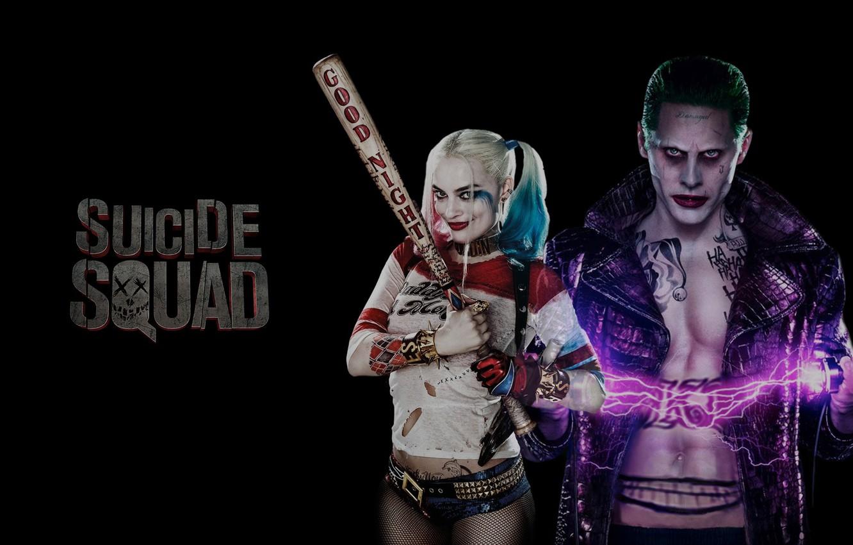 Wallpaper Heroes Joker Dc Comics Harley Quinn Villains