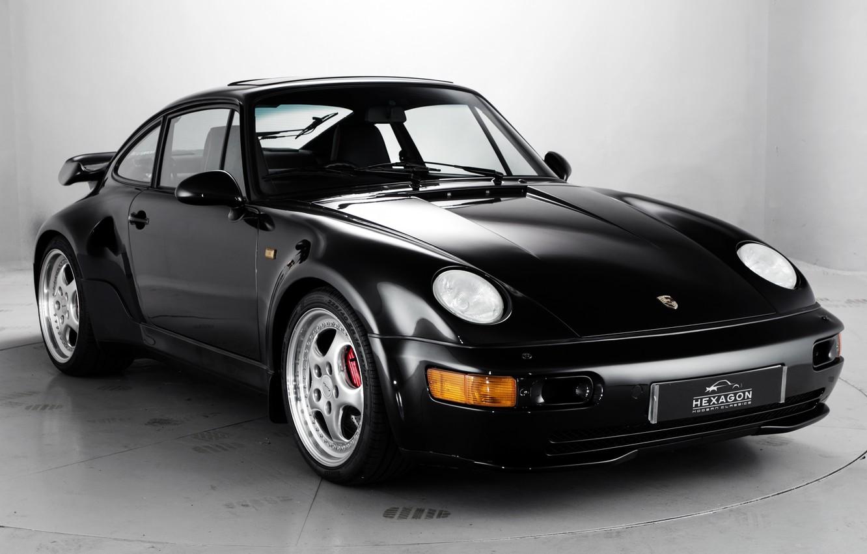 Photo wallpaper coupe, 911, Porsche, Porsche, Turbo, turbo, 1994, Hexagon