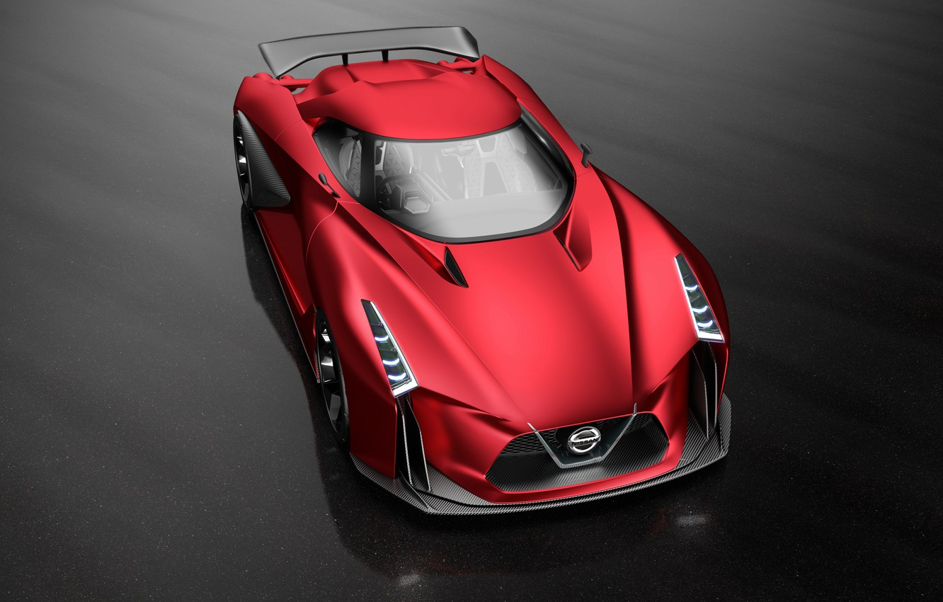 Photo wallpaper Concept, the concept, Nissan, Vision, Nissan, Gran Turismo, Gran Turismo, 2015, 2020
