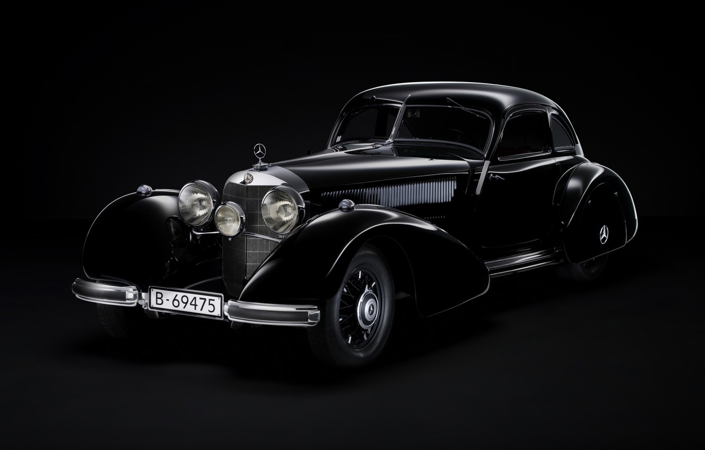 Photo wallpaper machine, auto, Mercedes