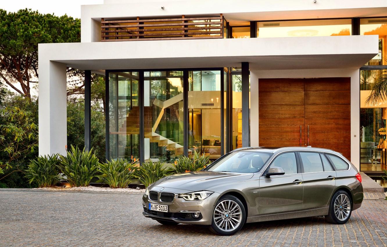 Photo wallpaper BMW, BMW, universal, Touring, F31, Luxury Line, 330d, 2015