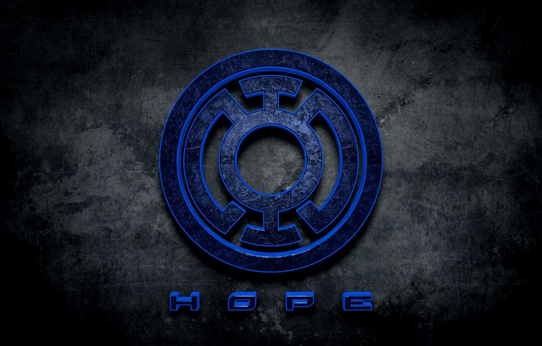 Photo wallpaper comics, hope, Blue lantern