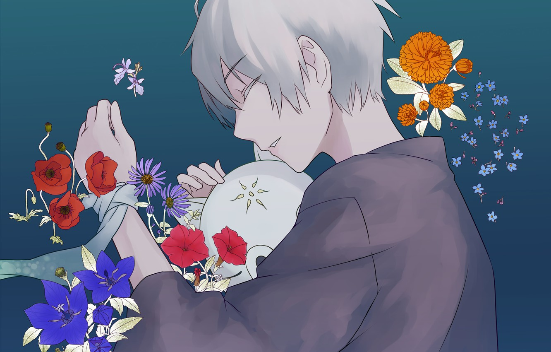 Wallpaper Flowers Gin Hotarubi No Mori E Art Guy Anime Images