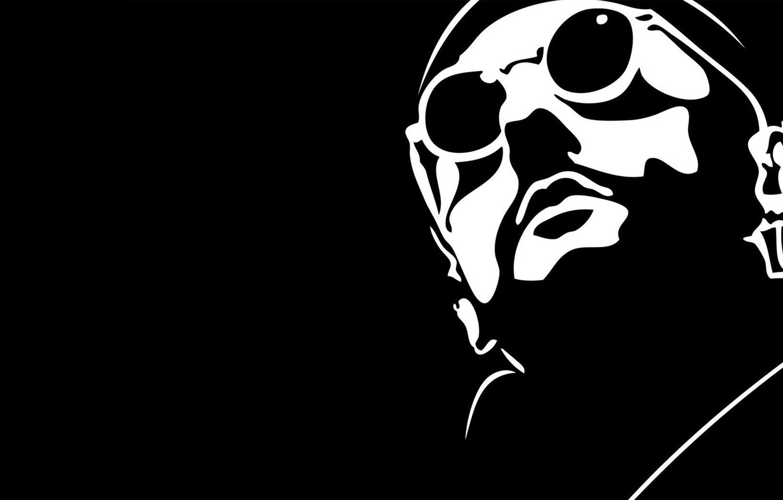 Photo wallpaper black, Leon, killer, LEON