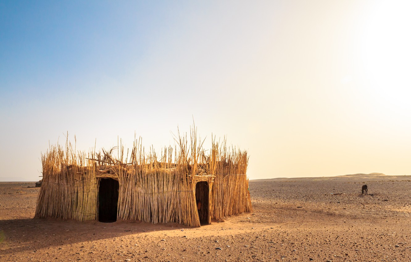 Wallpaper Nature Desert Hut Morocco The Western Sahara