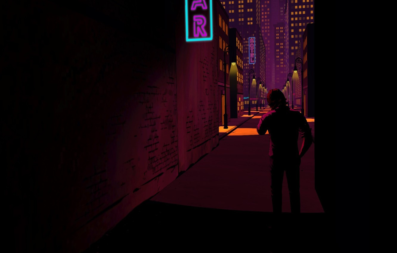 Photo wallpaper The Wolf Among Us, Bigby, Telltale Game