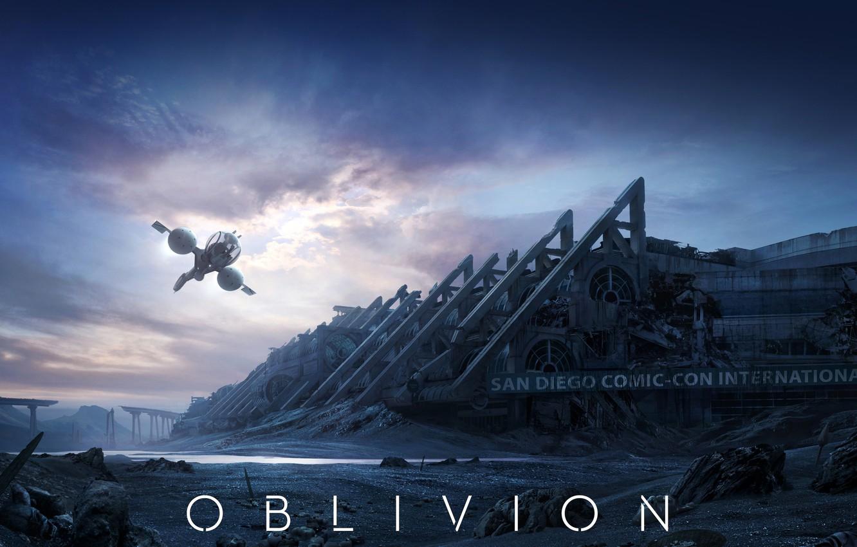 Photo wallpaper Ship, The film, Oblivion, Fiction, 2013, Movie