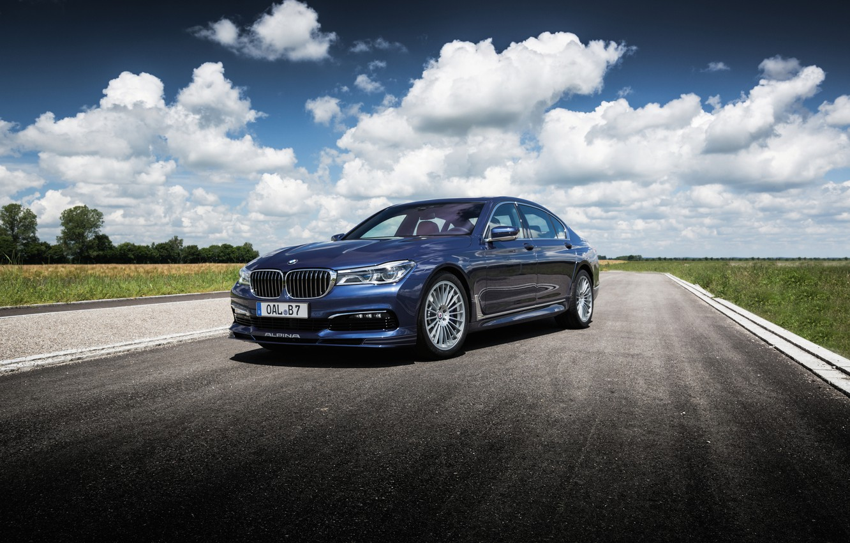 Photo wallpaper BMW, BMW, sedan, 7-Series, Alpina, G12