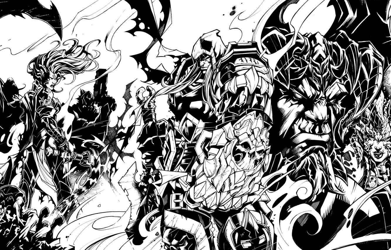 Wallpaper death, war, rage, war, darksiders, death, fury
